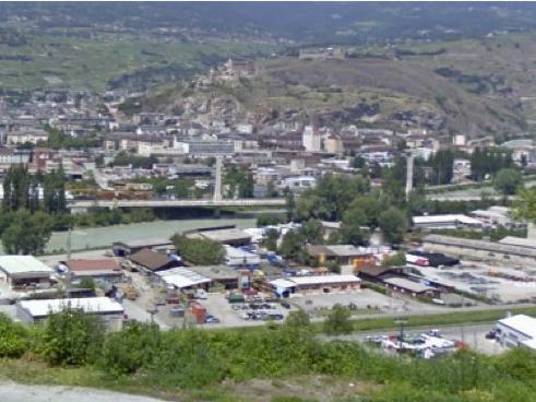 Ville de Sion et stratégie pour les zones d'activités