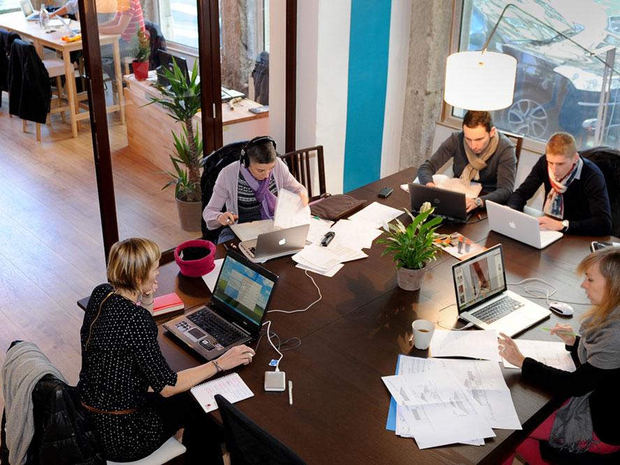Vers la création d'un réseau de lieux de travail partagés sur le Grand Genève